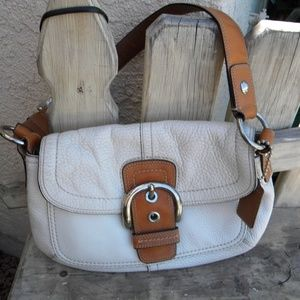 Vintage Coach signature Soho Hobo bag